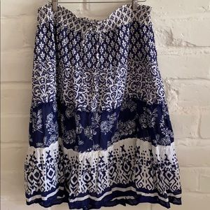 Summery skirt, Old Navy Size L